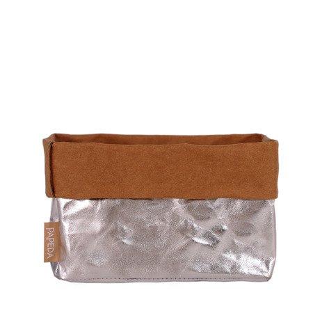 Organizer kolor srebrny rozmiar M wymiary 11 cm x 17 cm x 11 cm