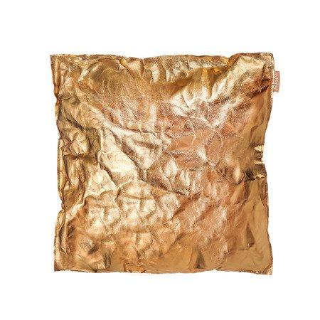 Poduszka dekoracyjna kolor złoty rozmiar